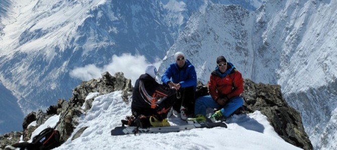 Bericht: Skitour Bishorn (4153 m)