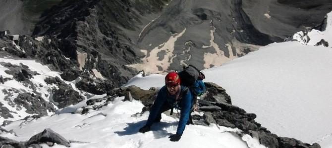 Bericht: Hochtour Ortlerüberschreitung / Hintergrat (3904 m)