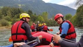 Rafting auf der Eisack