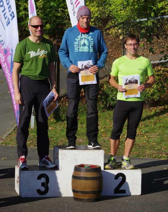 Siegerehrung Halbmarathon Hof 2014