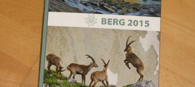 Vorgestellt: Berg 2015 <br>Das Jahrbuch der Alpenvereine
