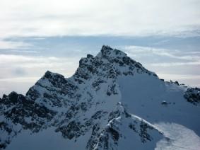 Dreiländerspitze vom Ochsenkopf aus gesehen