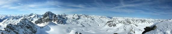 Panorama Dreiländerspitze