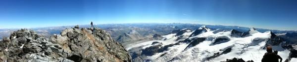 Panorama Piz Bernina