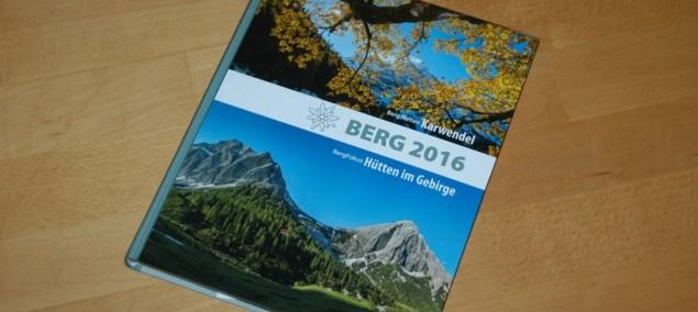 Vorgestellt: Berg 2016 <br>Das Jahrbuch der Alpenvereine