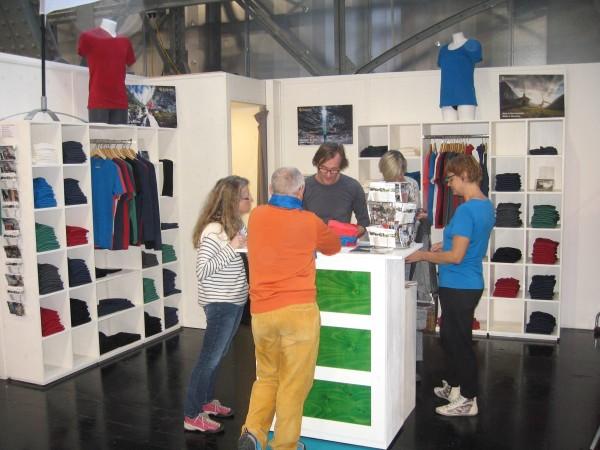 Kaipara auf der Alpinmesse Innsbruck 2015