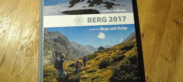 Vorgestellt: Berg 2017 <br>Das Jahrbuch der Alpenvereine