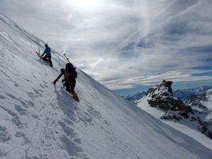 ... ohne Ski aufs Plateau du Couloir