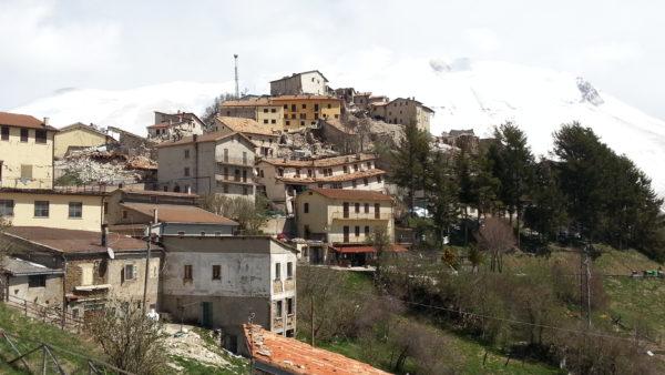 Castelluccio nach dem Erdbeben