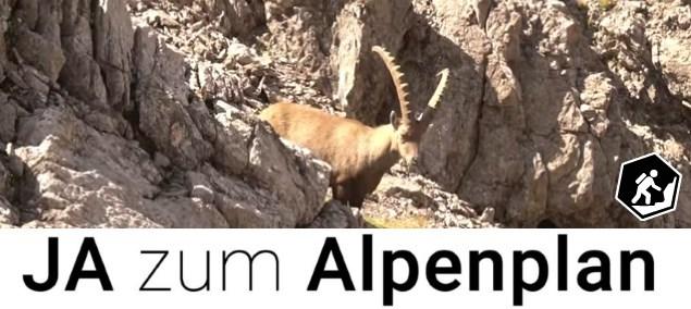 Ja zum Alpenplan