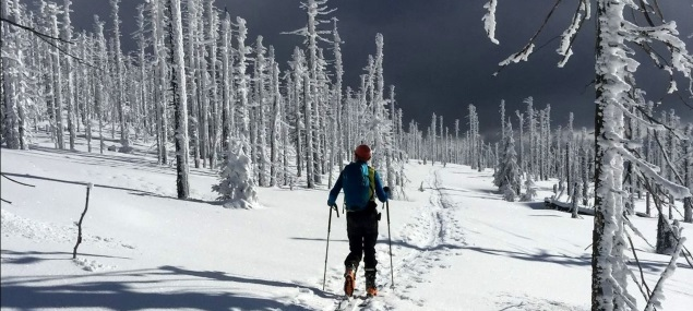 Bericht: Skitour Großer Rachel