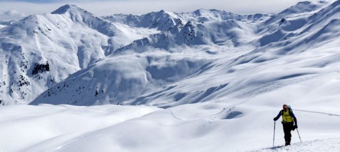 Bericht: Skitourenwochenende in Nauders