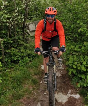 Mountainbiken in Finale Ligure
