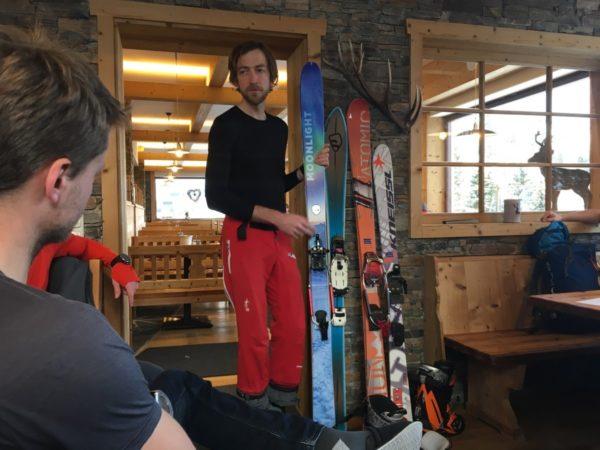 Telemarken auf der Riesneralm mit Hyphensport