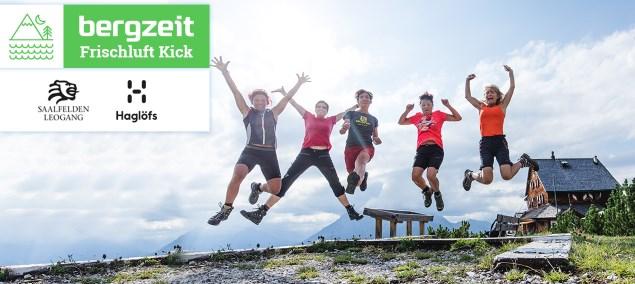 Bergzeit Frischluft-Kick: Mit Haglöfs nach Saalfelden Leogang