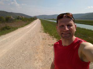 Laufen im Mirna-Tal